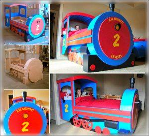 mobilier-camera-copiilor-trenulet