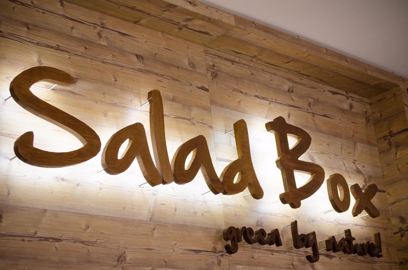 Logo Salad Box - Manufactura cu Ajutorul Masinii CNC